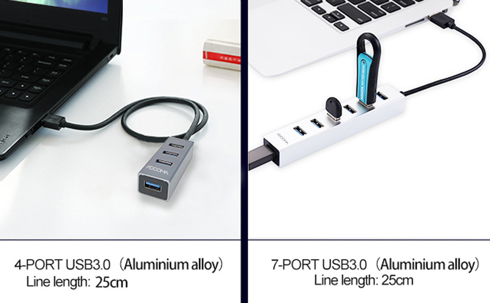 USB 3.0 Hub 7 port