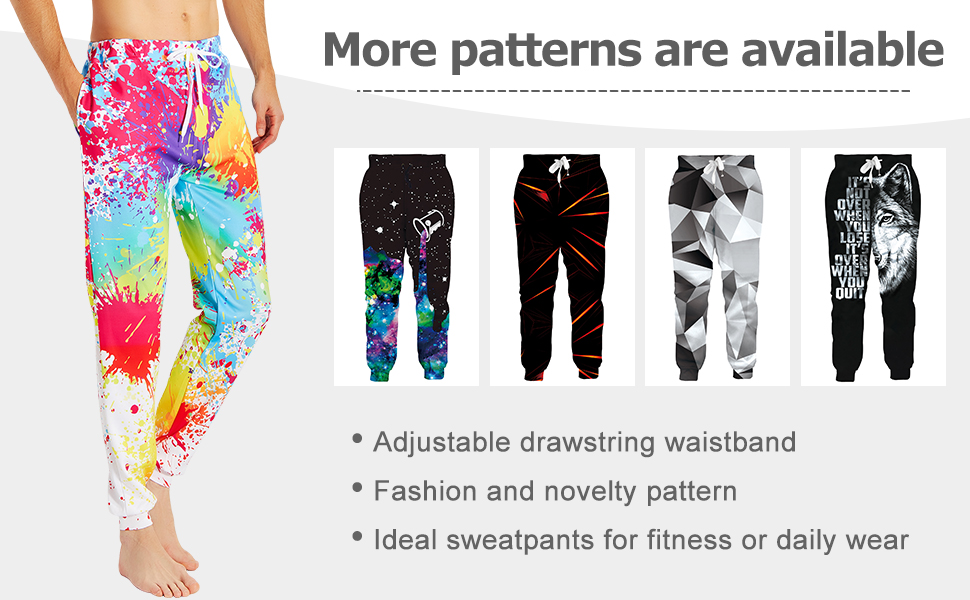 Novelty Cool Joggers Pants