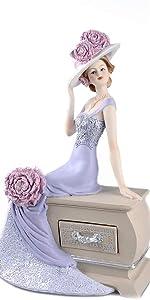 Peony Flower Figurine