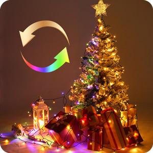 dim christmas lights