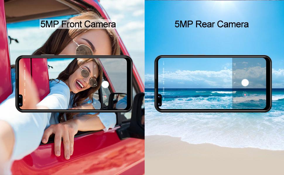 large screen 3g unlocked smartphone metro pcs t-mobil xgody phones under 100 dollars rear cameras