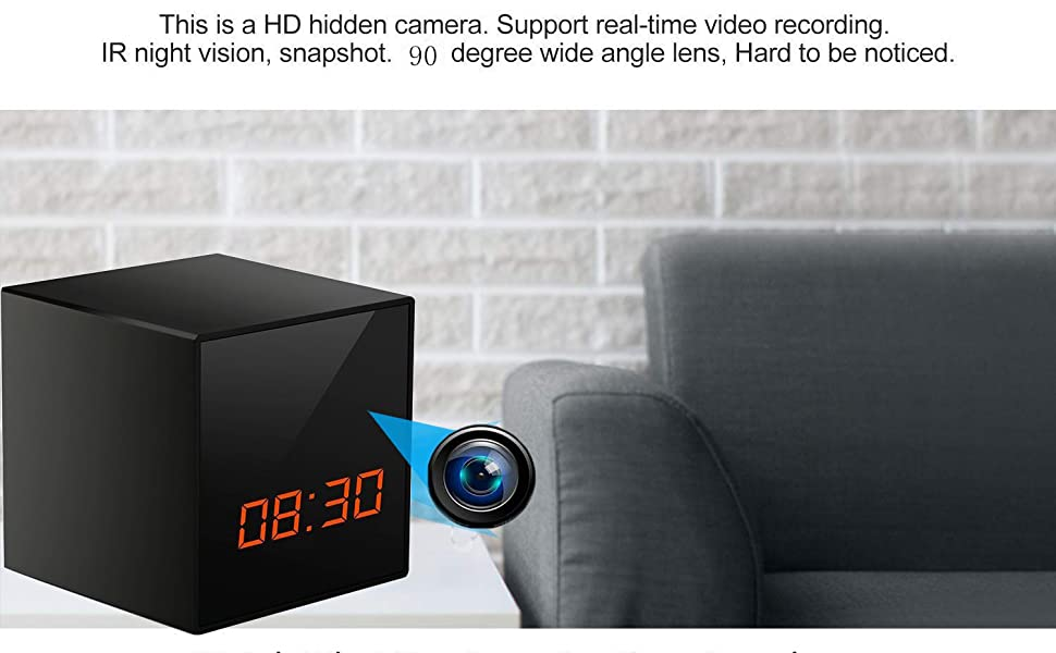 hidden spy camera charger