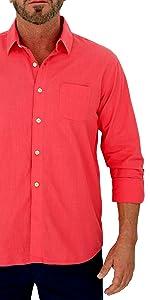 100%  cotton shirt for men