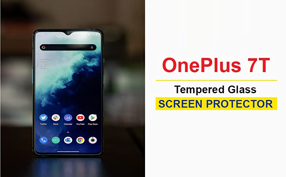 oneplus 7t glass protector