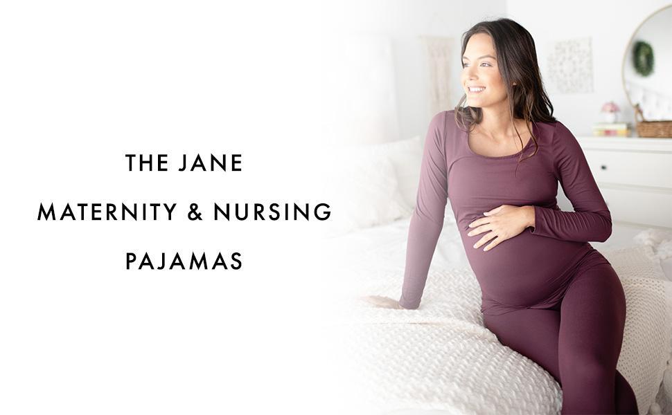 The Jane Maternity Nursing Pajamas