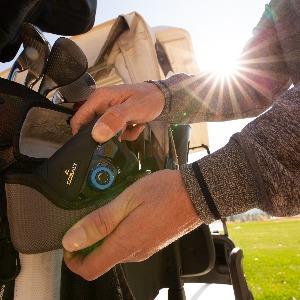 Cobalt Golf Laser Rangefinder in case