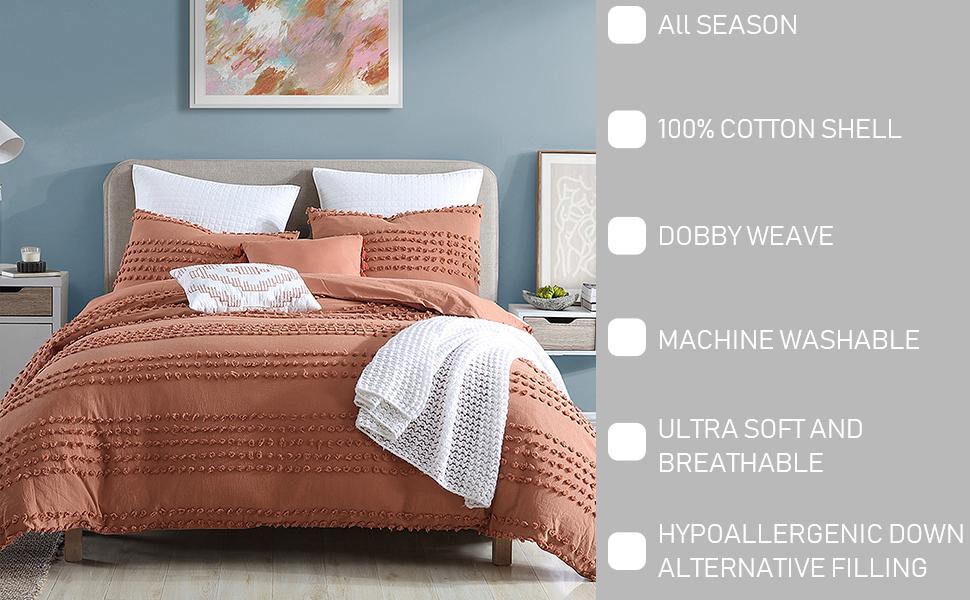 Marilla Dot 5-Piece Comforter Set