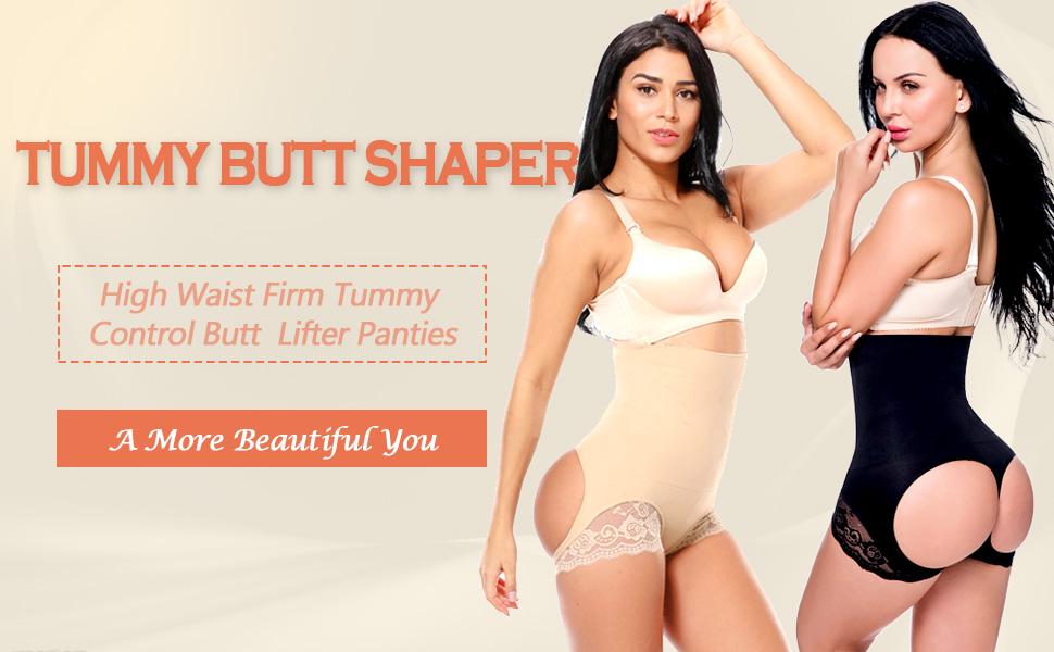 butt lifter tummy control panties