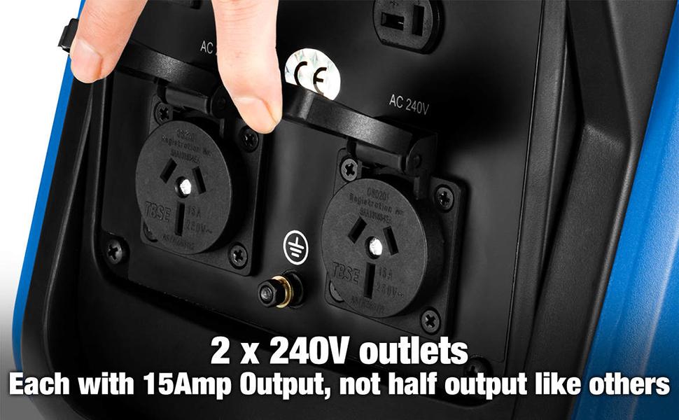 generator 240V outlets