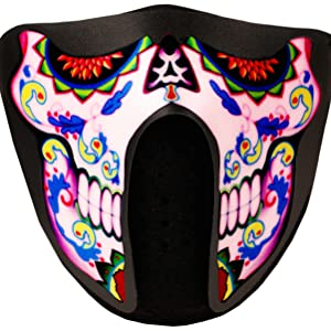 Sugar Skull LED Mask