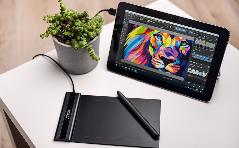 VEIKK S640 Graphic tablet