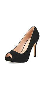Women's fashion classic heels dress pump shoes for party office Christmas wedding gifts