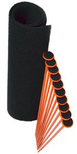 10-Gun Rifle Rods Kit