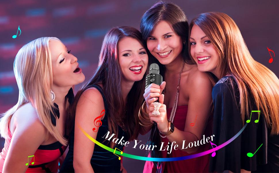 karaoke microphone bluetooth microphone wireless microphones