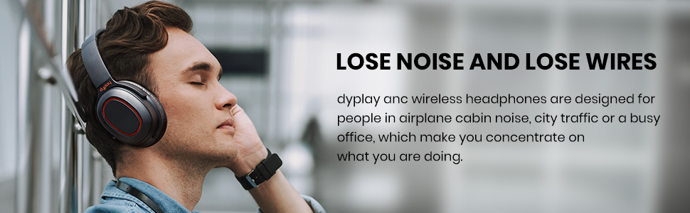 Lose noise and lose wires