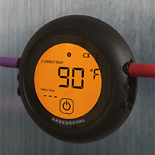 grilleye multi 6 probe soraken smart tappecue wifi thermometer ibbq meat cooking thermometer lcd