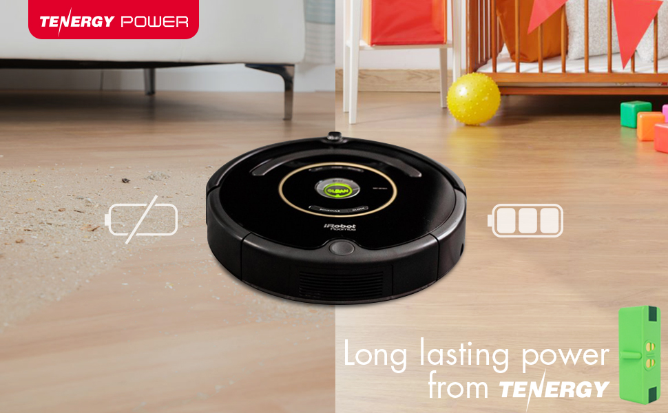 long lasting power for irobot vacuum cleaners