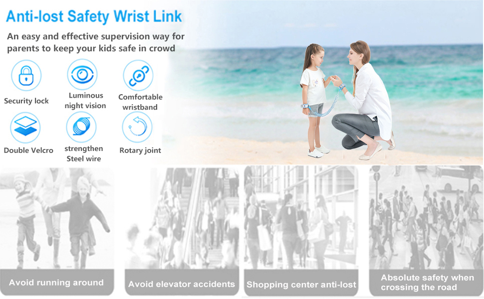 Anti lost wrist link