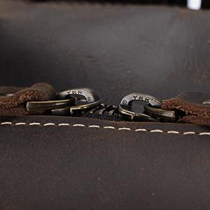 briefcase with ykk zipper