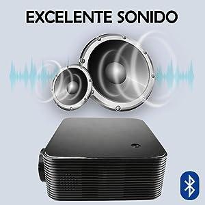 excelente sonido en stereo con capacidad bluetooth