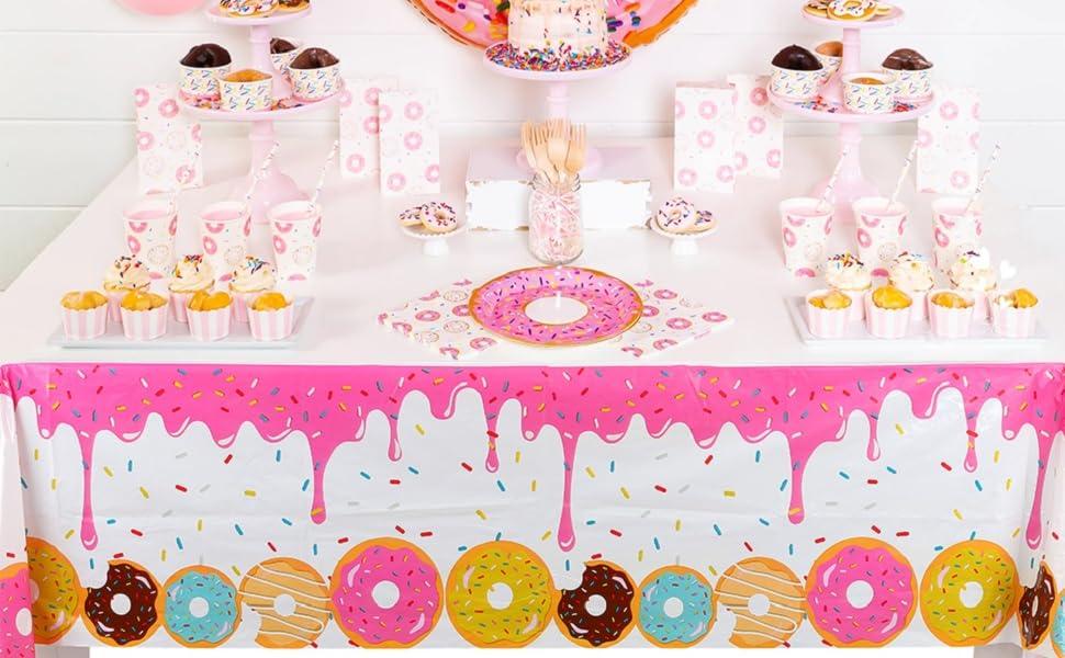 Donut Dessert Table Cover