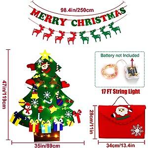 Detachable Christmas Ornament