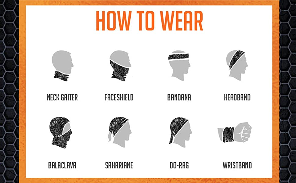 HOW TO WEAR NECK GAITER FOR MEN EXERCISE HIKING