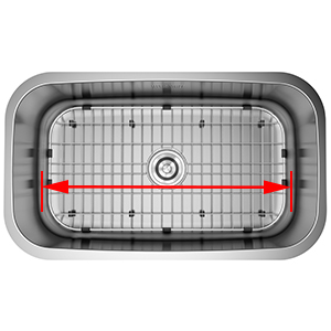 stainless steel sink protector