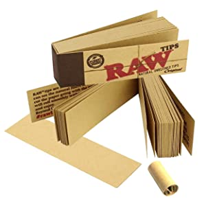 Raw Rolling Tips Roach Filters