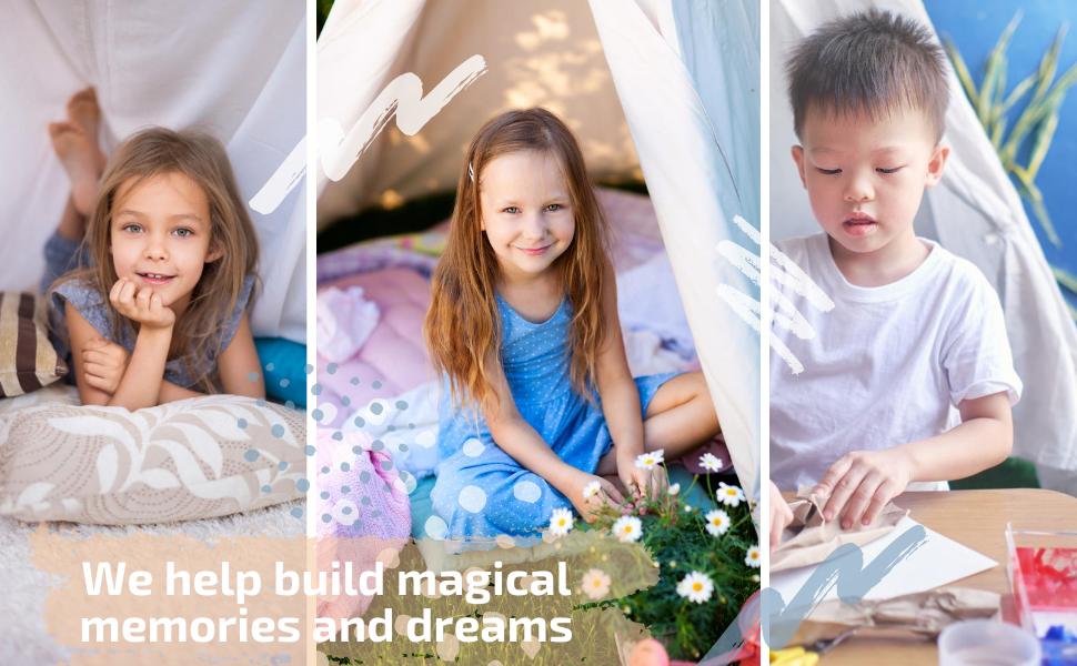 tipi tent kids  kids girls  kids playhouse indoor  toddler tents for boys indoor teepee  decorations