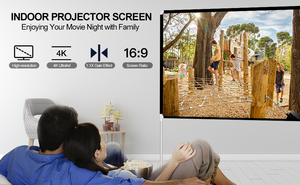 indoor projector screen