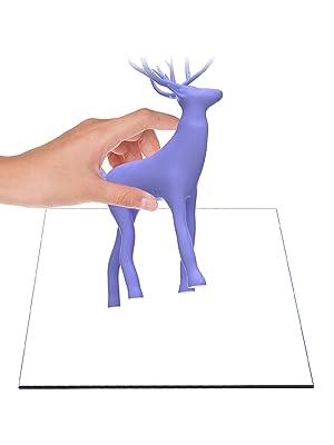 3D Printer Glass Platform Heated Bed Build Surface Tempered Glass Plate Ender 3 Pro v2 Ender 5 Pro
