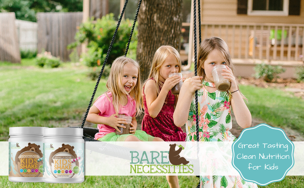 Great tasting clean nutrition for kids!