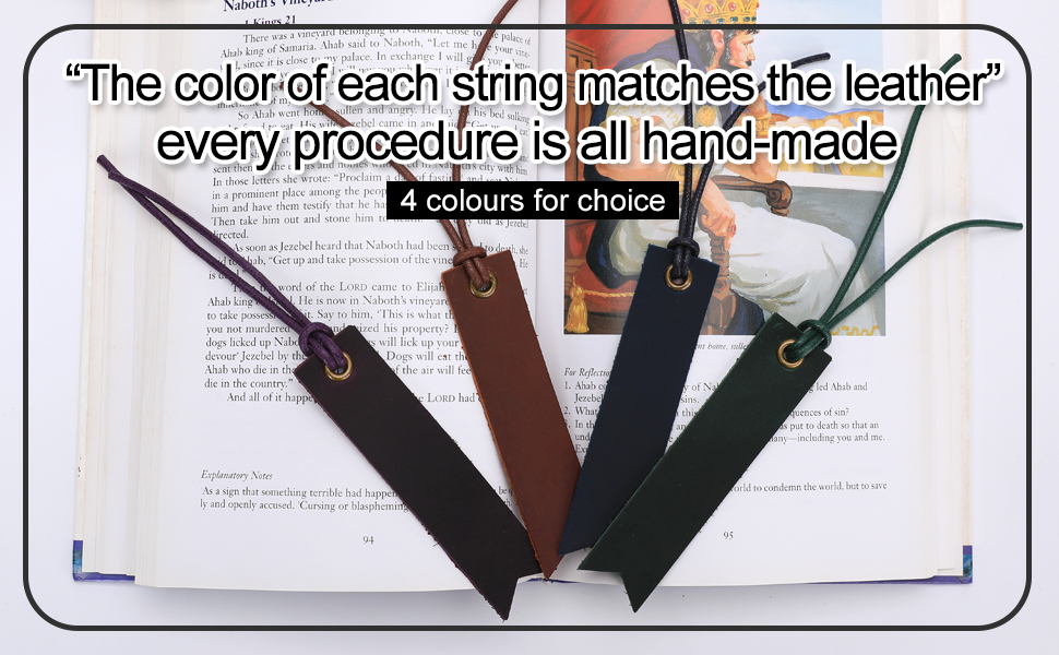 multicolor bookmarks