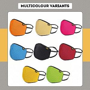 EUME Protect+ 95 face mask men women adjustable nose clip face mask multi color colored stylish mask