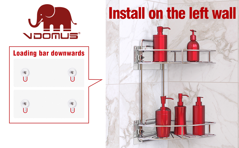 It's made of stainless steel, 100% rustproof, ideal for use in the humid bathroom environment.