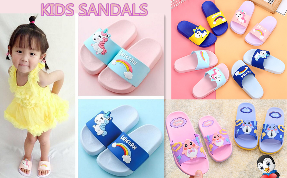 Im a Unicorn Slide Sandals Indoor /& Outdoor Slippers Shoes for kids boys and girls