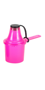 Plastic Measuring Scoop Funnel Powder Container Baby Formula Portable Travel Dispenser Protein Amino