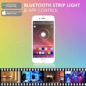 bluetooth strip light