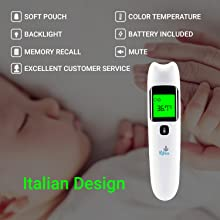 Multiuse thermometer