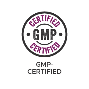 Manufactured in a GMP-certified facility