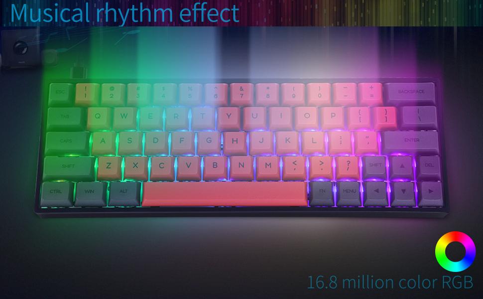 backlit RGB color