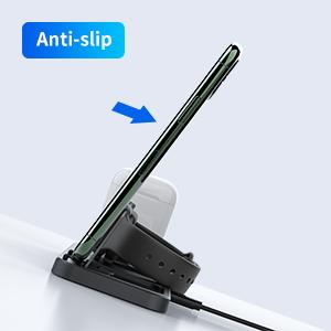 anti-slip apple charging stand