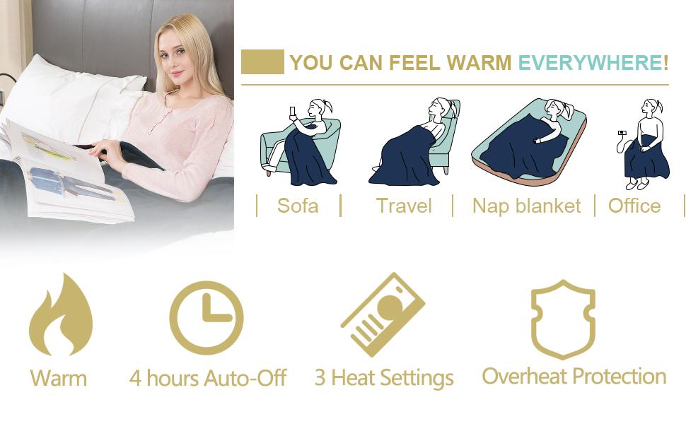 You can feel warm everywhere