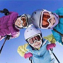 YAOYIN Guantes de Esqu/í Infantiles Guantes A Prueba de Viento Impermeable para Ni/ños y Ni/ñas Guantes Invierno Nieve T/áctiles Calientes Guante Nieve T/érmica para Snowboard