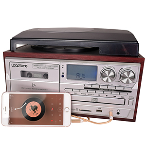 AUX in record player