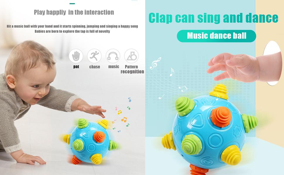 Infantino Sensory Sound And Light Activity Ball Colour Changing Sensory Ball