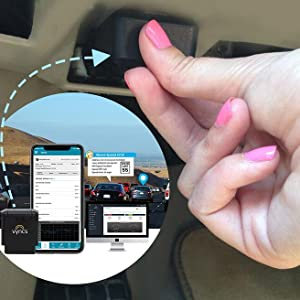 Vyncs Pro Real time car tracker, OBD
