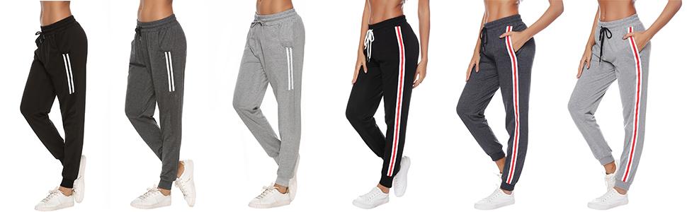 Sykooria Pantalones Deportivos Casuales para Mujer, Pantalones de ...