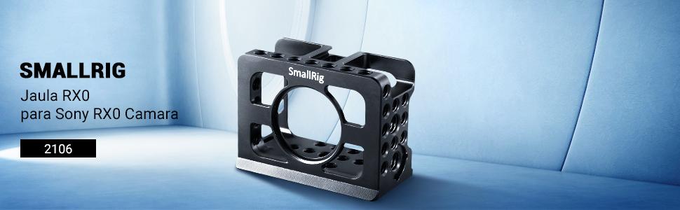 SMALLRIG Jaula RX0 para Sony RX0 Camara, Cage con Zapata Flish ...